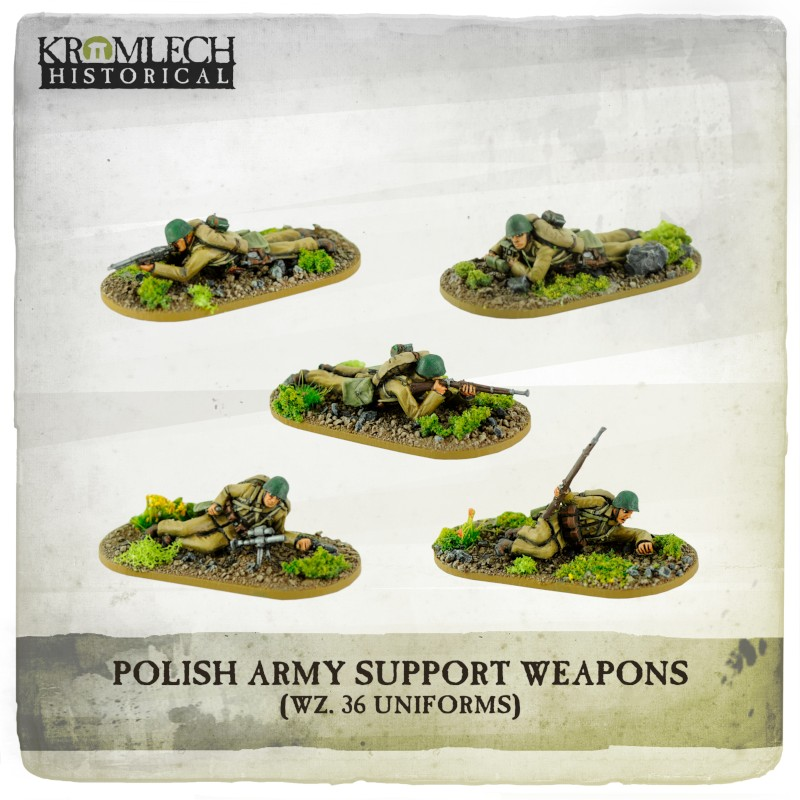 Polish Army Support Weapons - Kromlech Historical