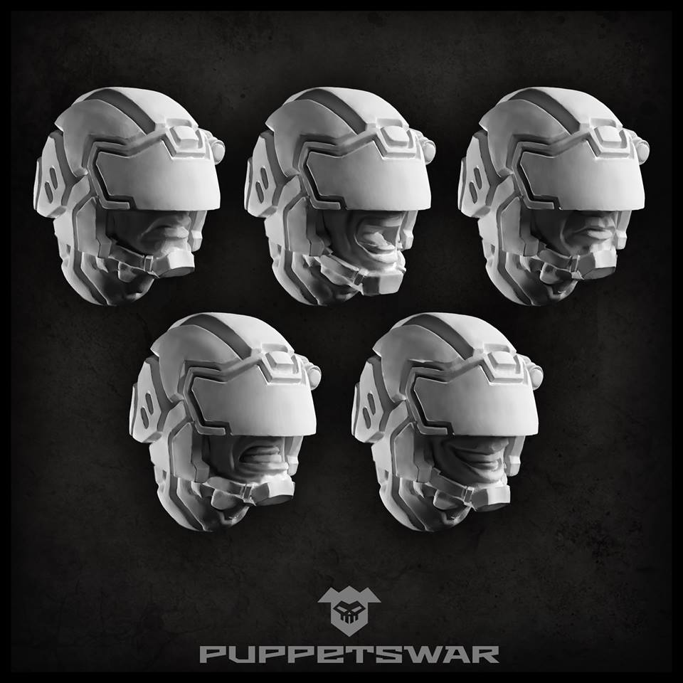 Protector Heads - Puppets War