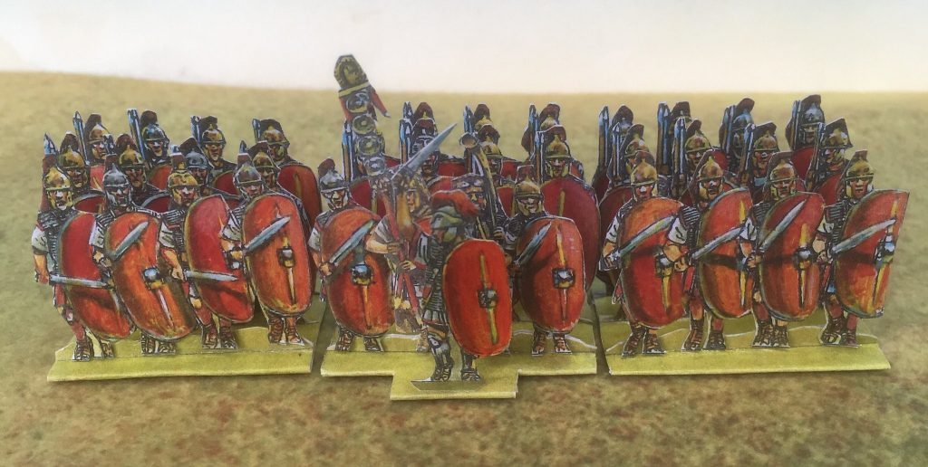 Red Plain Shield Infantry - Peter's Paperboys
