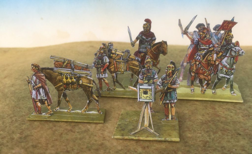 Roman Commanders & Scorpion - Peter's Paperboys