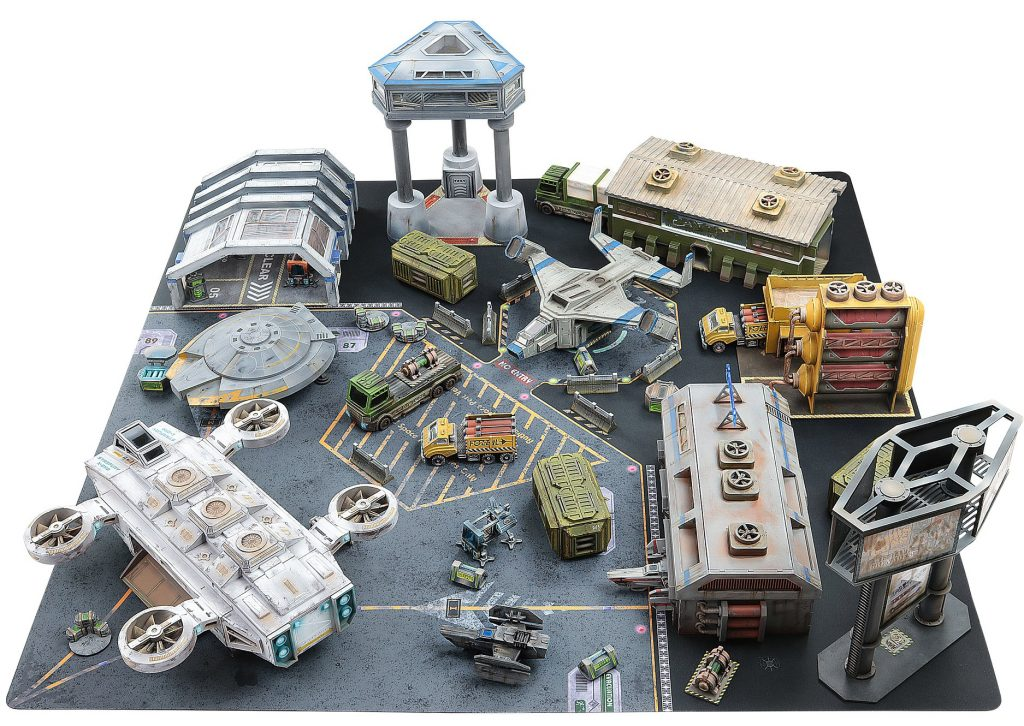 Rylos Spaceport Full Table - Impudent Mortal