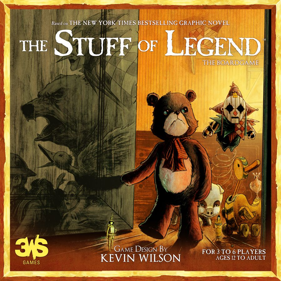 The Stuff Of Legends - 3WS Games