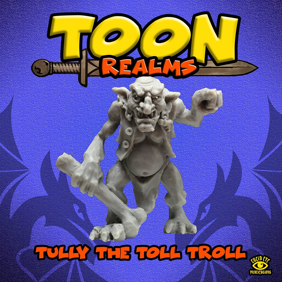 Tully The Toll Troll - Lucid Eye