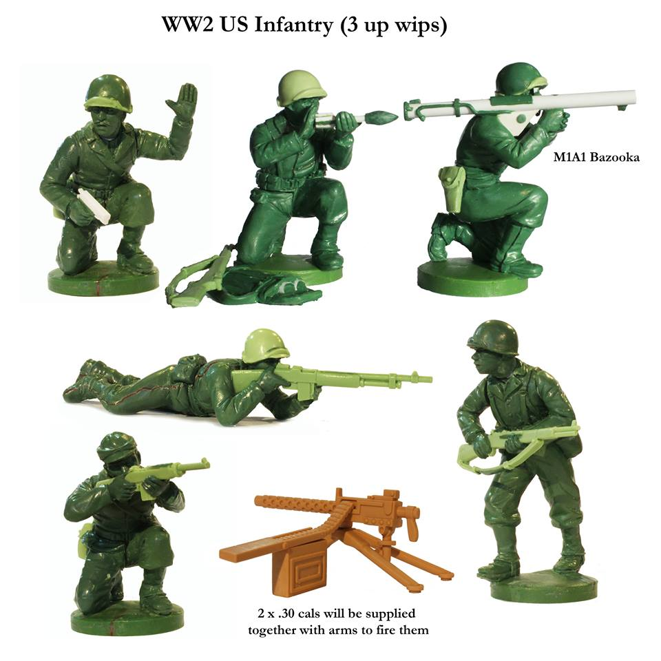 WWII US Infantry #1 - Perry Miniatures