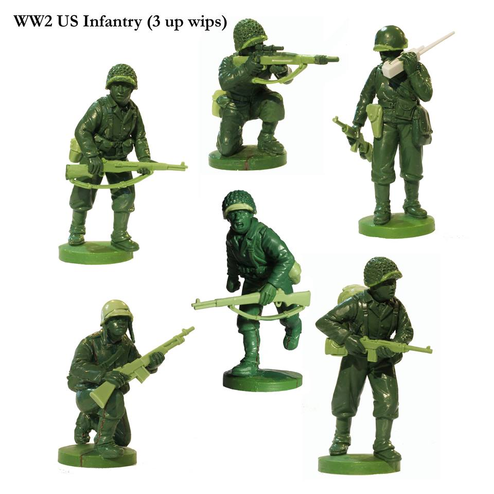 WWII US Infantry #2 - Perry Miniatures