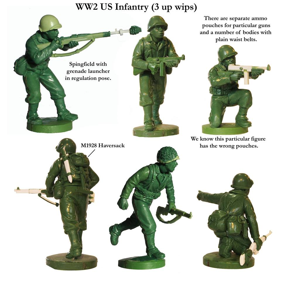 WWII US Infantry #3 - Perry Miniatures