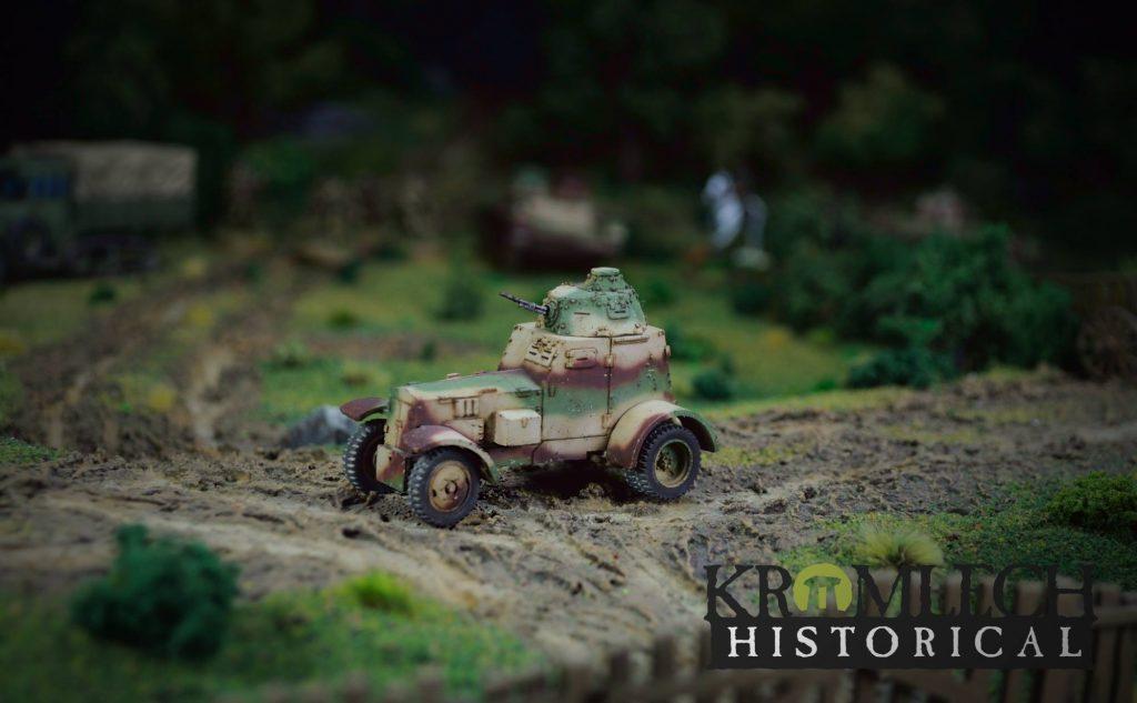 WZ 34 Armored Car - Kromlech Historical