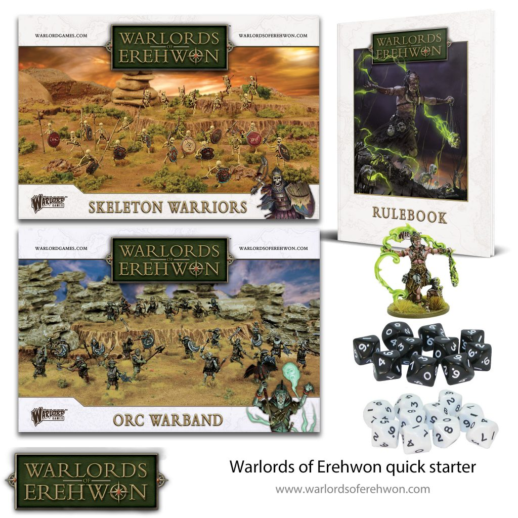 Warlords Of Erehwon Quickstarter - Warlord Games