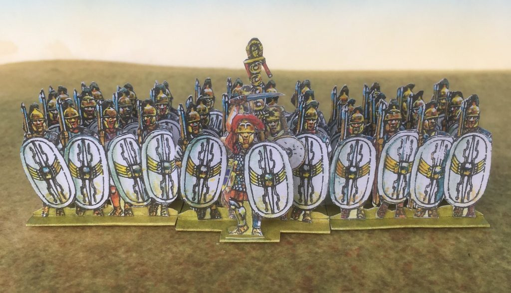 White Wing Shield Infantry - Peter's Paper Boys