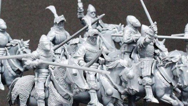 Perry Miniatures Ride Forth With New Agincourt Mounted Knights Box
