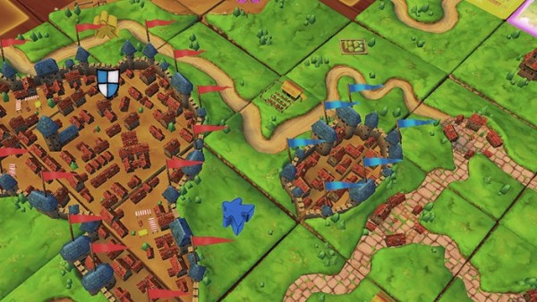 Asmodee Digital Bring Classic Carcassonne To Nintendo Switch