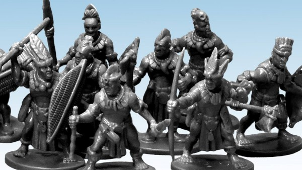 North Star Share Peek At New Plastic Tribal Warriors Set