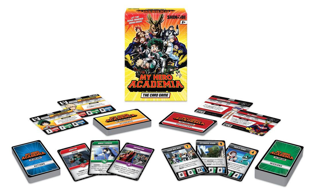 Select The Best Superheroes In My Hero Academia: The Card