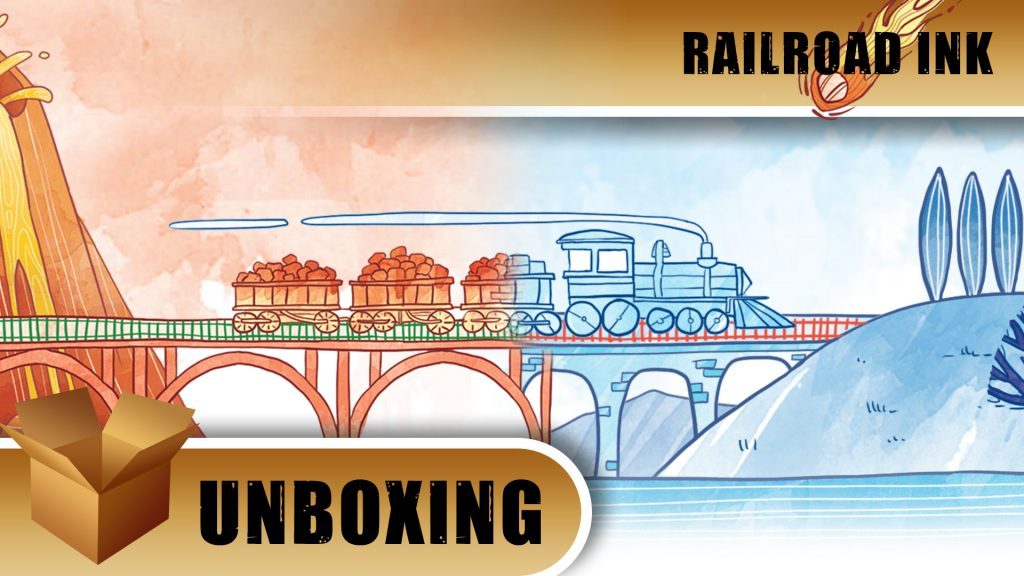 Unboxing: Railroad Ink
