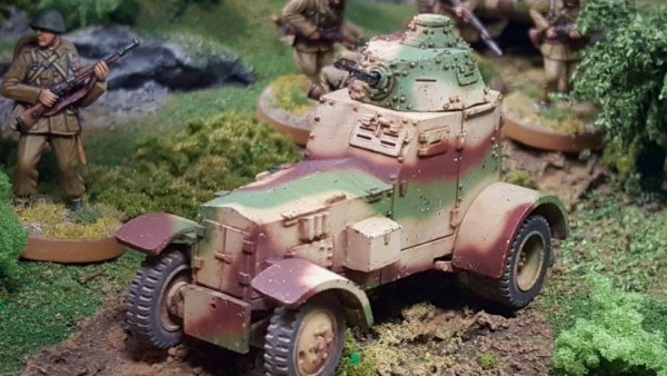 Trundle Along In The WZ. 34 Armoured Car By Kromlech Historical