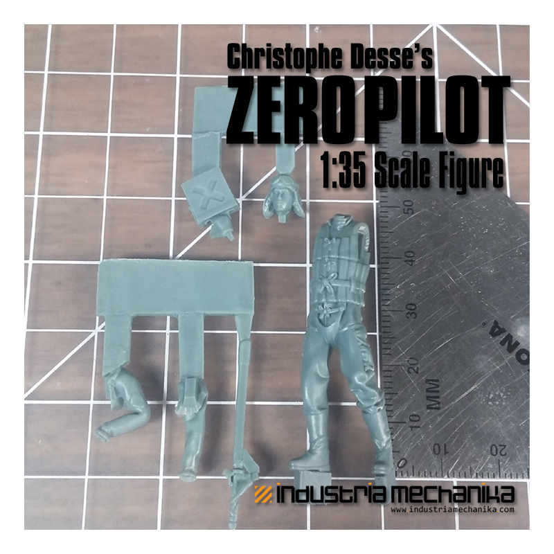 1-35 Zero Pilot (Bits) - Industria Mechanika