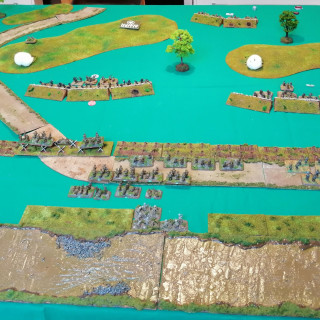 Monte Cassino -First Table Top Battle (Turns 3 and 4)