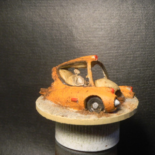 Broken Fallout 4 Mini car