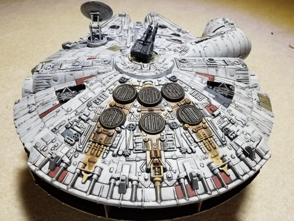 1979 Kenner Millennium Falcon #2 by misch