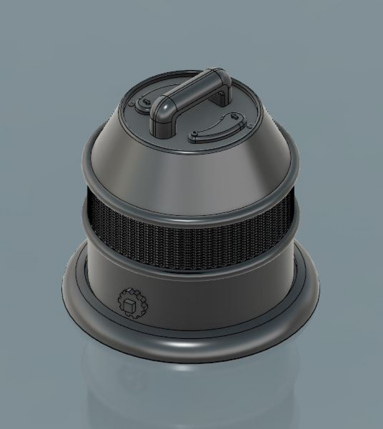 3D model done in fusion 360