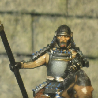 More elite Uesugi's cavalry.