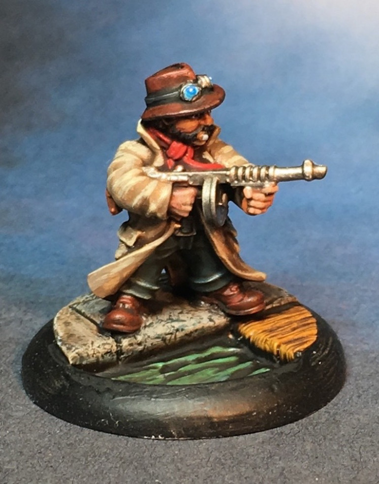 A Second Tommygun Armed Cousin Is Ready For Action