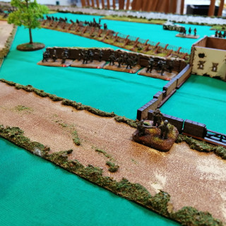 Monte Cassino - First Table Top Battle (Turns 1 and 2)