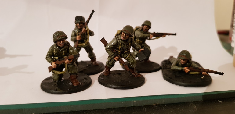 Some more airborne for the platoon