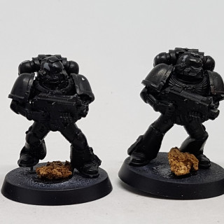 Building and Prep Work for Space Marines and Terminators