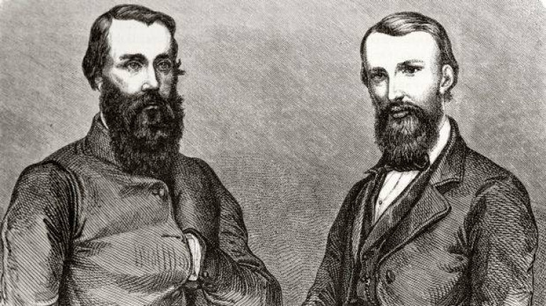 Burke and Wills the famous Australian Explorers