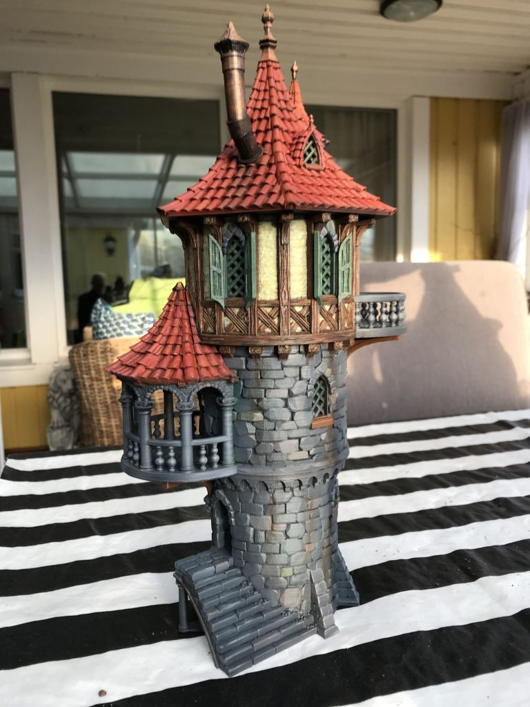 3D Printed Wizards Tower #2 by janus1004