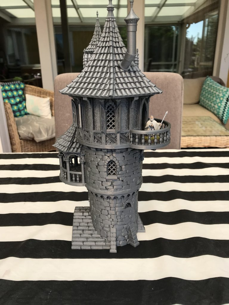 3D Printed Wizards Tower ALT by janus1004