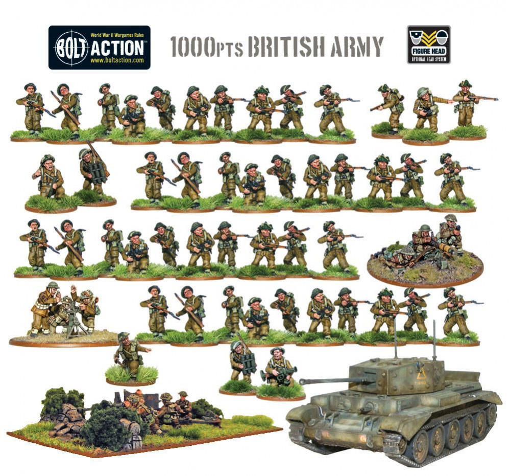 Klorophil's Bolt Action armies