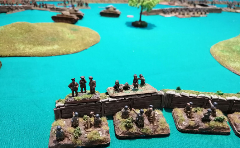The assault on the mortar teams