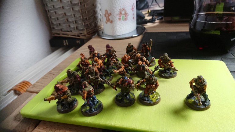 So many cultists...  In the name of nurgle!