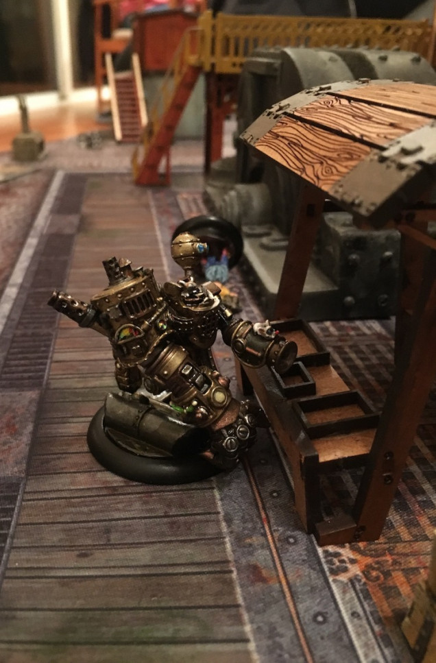 Necron's golem that is a bear to deal with.