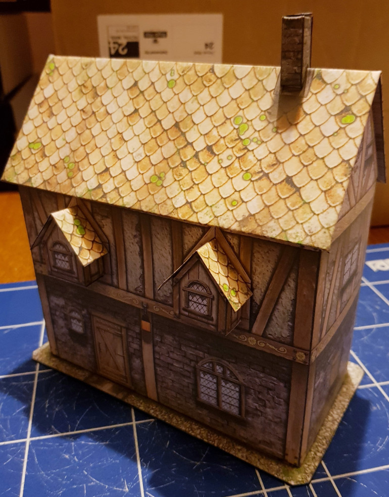 Week 2 - Papercraft Buildings Part 2