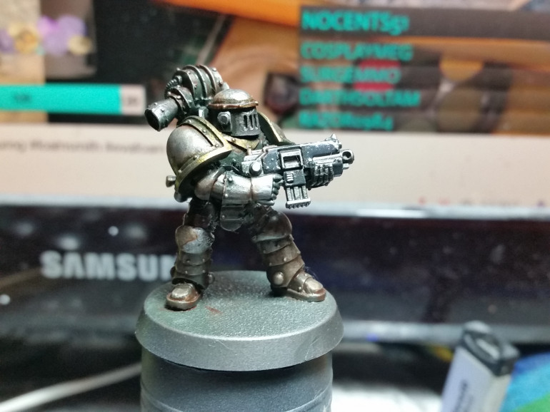 Mk. II Space Marine Progress Update 2