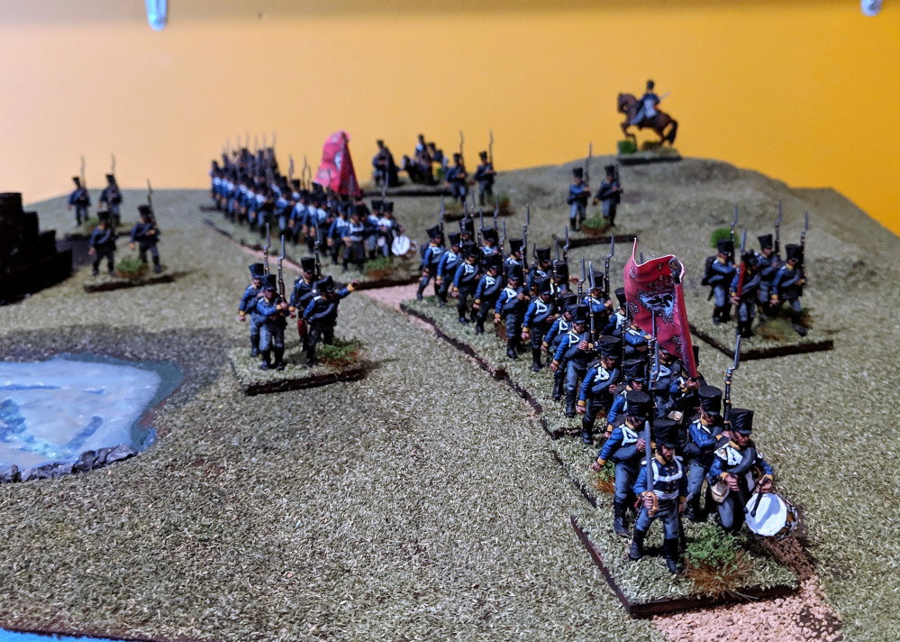 Painting the Prussian 11th Brigade at the Battle of Leipzig