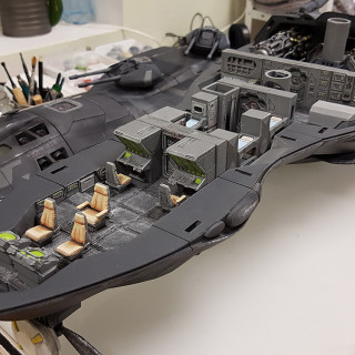 Internal Scout Ship Painted