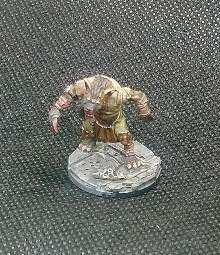 The Gnoll toes as on the Northstar sprue
