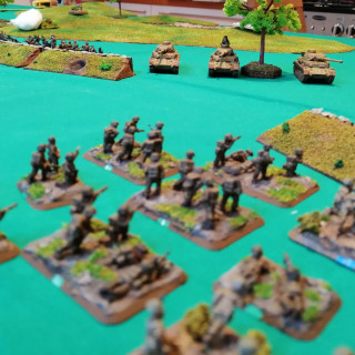Monte Cassino - First Table Top Battle (Turns 5 and 6)