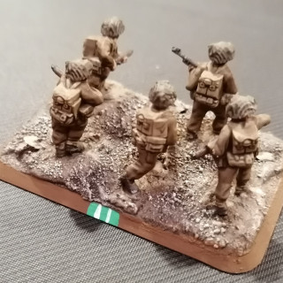 Commonwealth Infantry - Basing and completing the models
