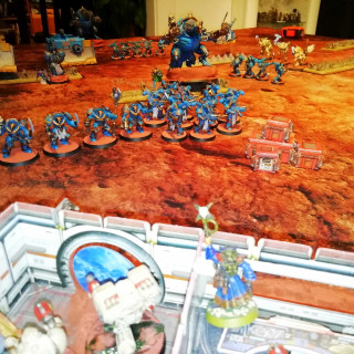 BatRep: Deathwing vs Thousand Sons