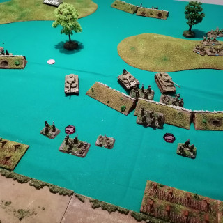 Monte Cassino - First Table Top Battle (Turns 7 and 8)