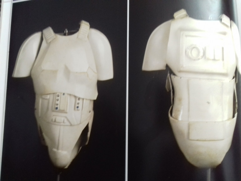 Troopers torso worn by Mark Hamill