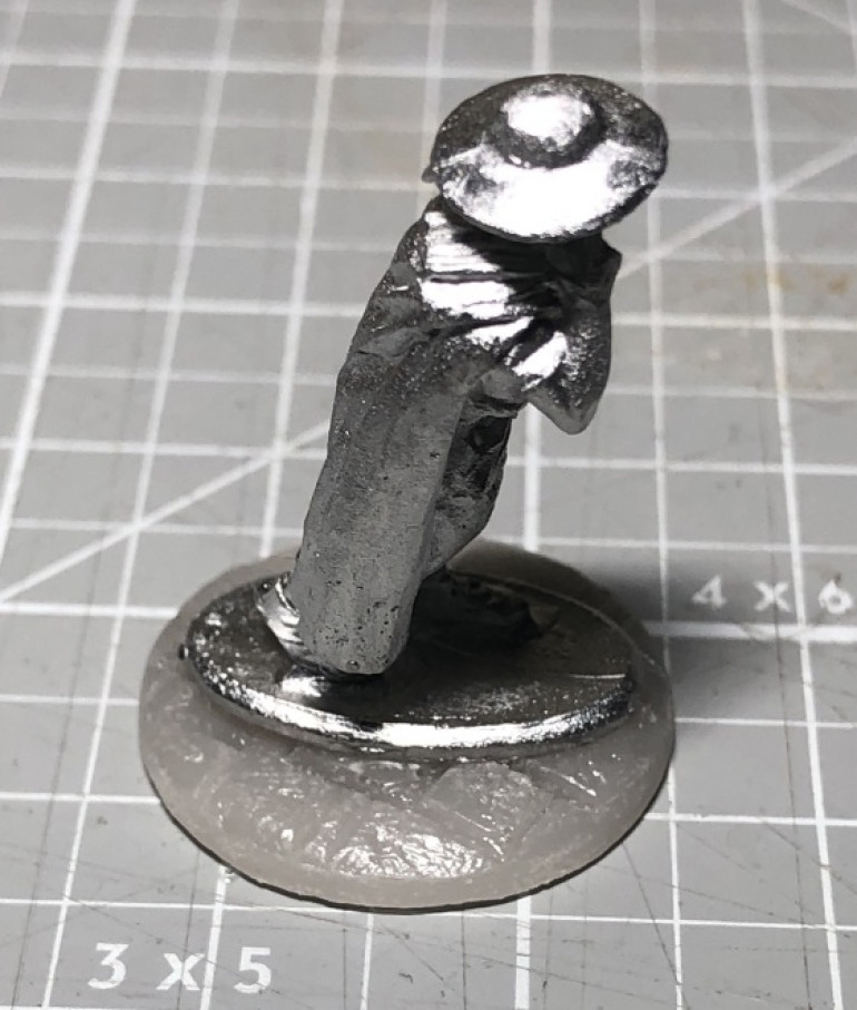 An aside - Why I'm cutting the models off the bases