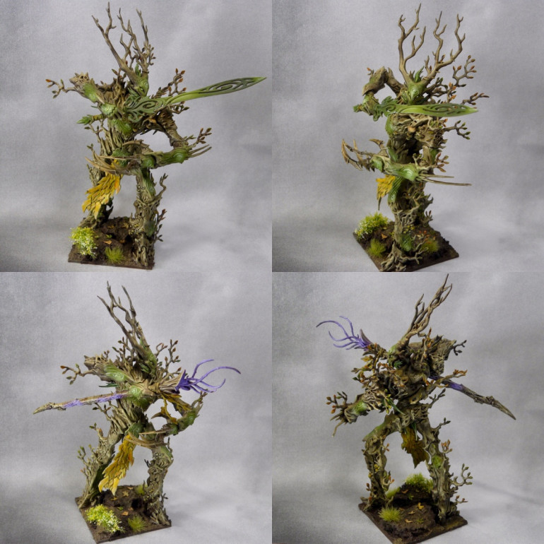 Ancient Treelord finished!
