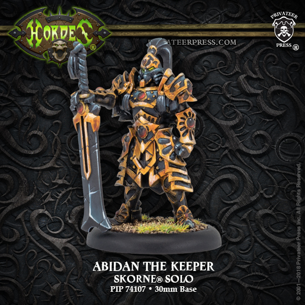 Abidan the Keeper - Hordes