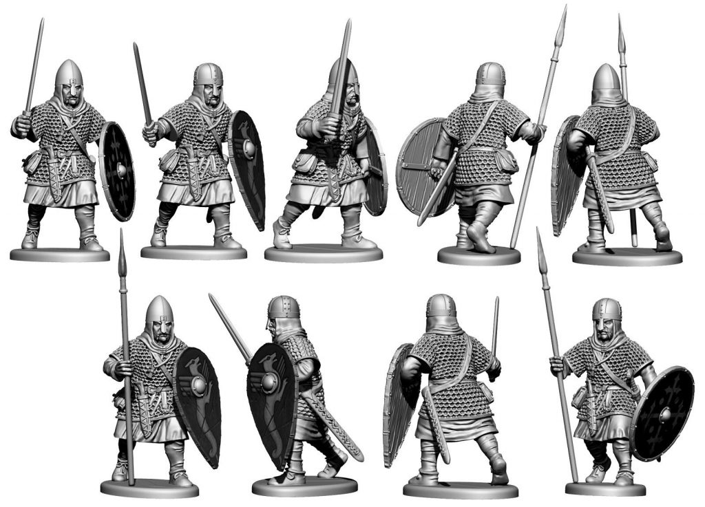 Armoured Saxon Warrior - Victrix